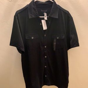 Men's black NEW Banana Republic shirt